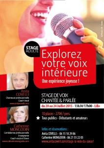 Stage La Voix du Coeur