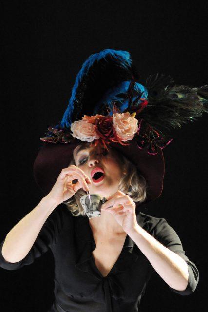 Photo Anita Covelli chapeau